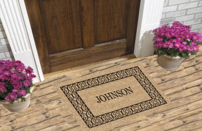 Why Should You Buy A Personalized Door Mat For Your Home And Office